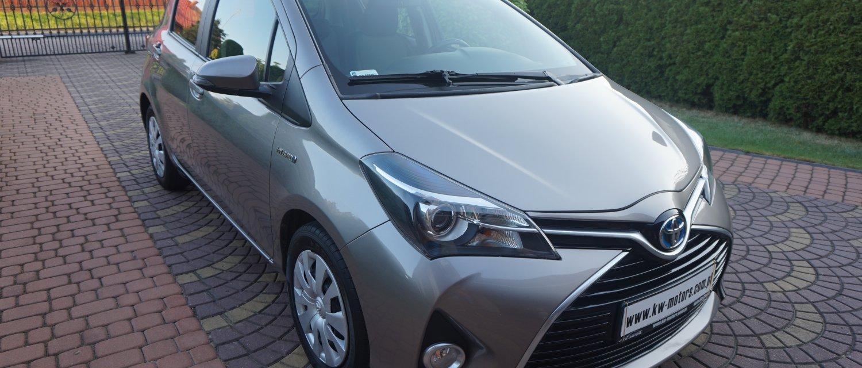 Toyota Yaris HYBRYDA 1.5 2015r 71000km